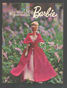 Barbie Magazine Annual #1 1964-The World of Barbie-1st issue-Photos-stories-d...
