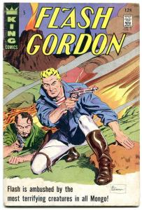 FLASH GORDON #5 1965-KING COMICS VG