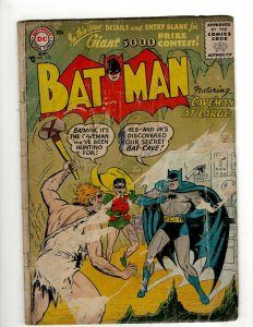 Batman # 102 GD DC Comic Book Joker Robin Catwoman Gotham Penguin Ivy KD1