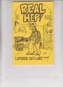 Real Hep! #2 VF matt feazell - reed waller - steeldragon - rich larson 1983 rare