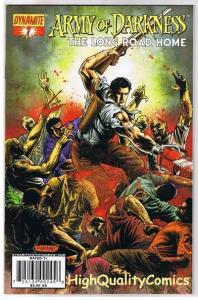 ARMY of DARKNESS : Long Road Home #7, NM-, Neves, 2007, more AOD in store