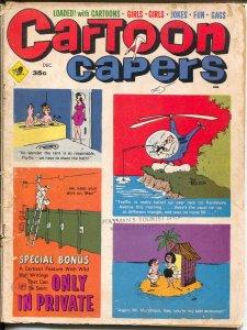 Cartoon Capers  12/1968-Marvel-cartoons-gags-Trogdon-Bob Tupper-G
