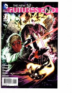 Lot Of 7 New 52 Future's End DC Comic Books # 1 2 3 4 5 6 7 Batman Superman J224