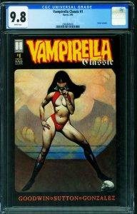 Vampirella Classic #1 CGC 9.8 1995 comic Harris 2066888005