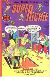 SUPER RICHIE (1975-1976) 6 VF-NM  Nov. 1976 COMICS BOOK