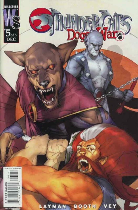 ThunderCats: Dogs of War #5A VF/NM; WildStorm | save on shipping - details insid
