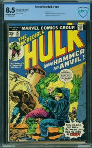Incredible Hulk #182 (Marvel, 1974) CBCS 8.5