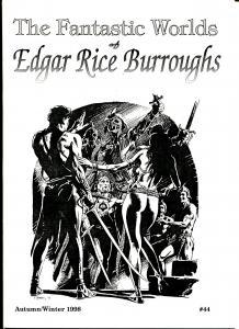 Fantastic Worlds of Edgar Rice Burroughs #4 1998-British-Tom Yeates-VF