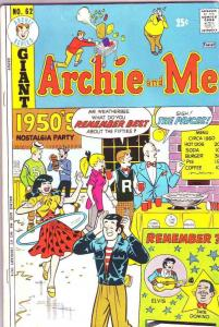 Archie and Me #62 (Jun-74) FN/VF Mid-High-Grade Archie, Betty, Veronica, Regg...