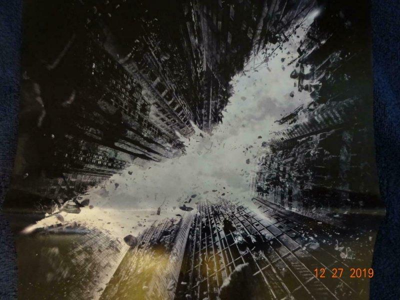 DARK KNIGHT RISES Promo Poster, 11.5 x 17, 2012, DC Batman Unused 410