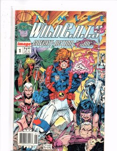 Image Comics WildC.A.T.S: Covert Action Teams #1 Rare Newsstand Edition Jim Lee