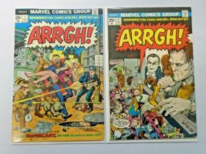 Arrgh! lot #1 + #2 6.0 FN (1974)