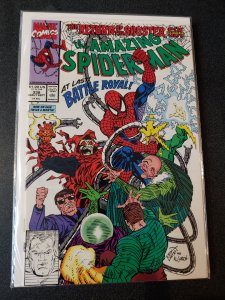 AMAZING SPIDER-MAN #338 THE NEW SINISTER SIX