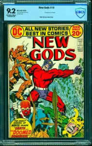New Gods #10 CBCS NM- 9.2 Off White to White