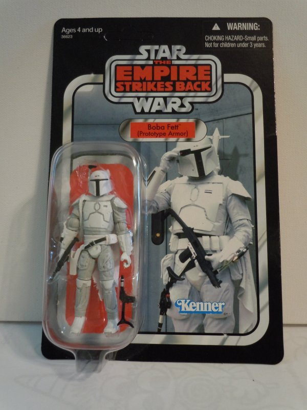 Star Wars Vintage Collection Boba Fett Prototype Armor MailAway Exclusive Figure