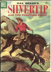 Silvertip-Four Color Comics #731-1955-Dell-Kinstler-Max Brand-G