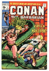 CONAN THE BARBARIAN #7-BARRY SMITH ART - VF