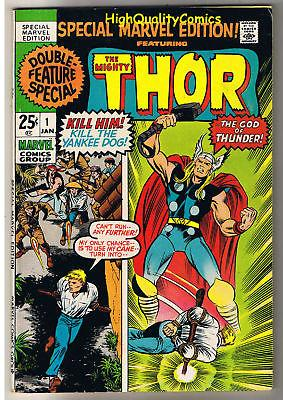 SPECIAL MARVEL EDITION #1, FN, Jack Kirby, THOR, 1971, more JK in store