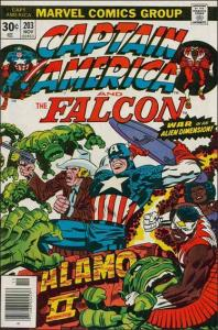 Marvel CAPTAIN AMERICA (1968 Series) #203 FN/VF