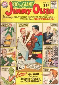 EIGHTY PAGE GIANT 2 FAIR JIMMY OLSEN   Sept. 1964 COMICS BOOK