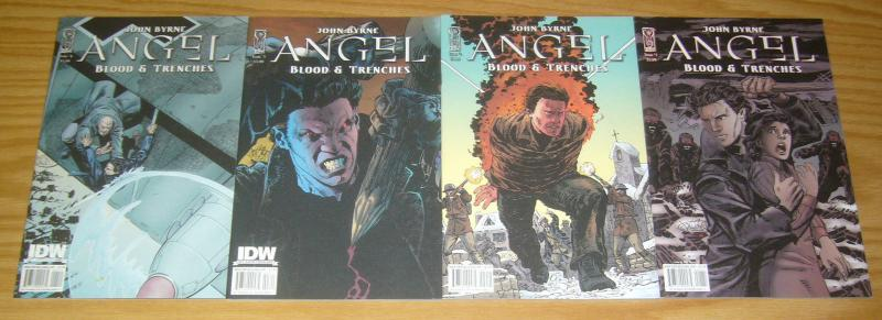Angel: Blood & Trenches #1-4 VF/NM complete series JOHN BYRNE buffy vampire 2 3