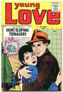 YOUNG LOVE Vol 3 #5 1960 FIRST ISSUE OF THE NEW SERIES VG+