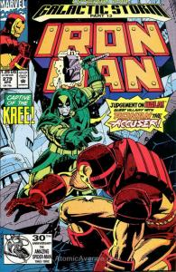 Iron Man (1st Series) #279 VF/NM; Marvel | save on shipping - details inside
