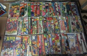 X-MEN MEGA Collection! 97 diff! VF/+, Romita,Lee,Silvestri,Claremont, 1981-2000