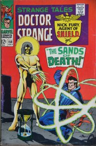 Strange Tales #158 (1967) Grand Tribunal !! HOT BOOK! Movie coming out!!