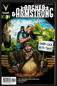 Archer & Armstrong #7 (2nd series)  9.4 NM
