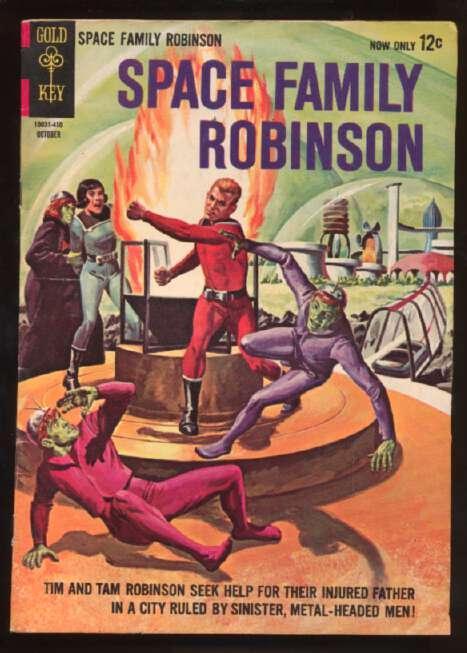 Space Family Robinson #10, Fine+ (Actual scan)
