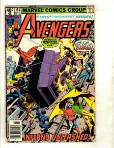 12 Avengers Marvel Comics # 193 194 216 221 226 227 228 229 230 232 233 234 EK11