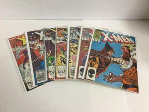 Uncanny X-Men 222 225-300 Vf-Nm Very Fine-Near Mint Marvel Comics