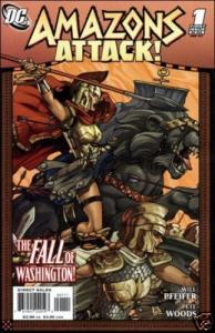 Amazons Attack #1 The fall of Washington