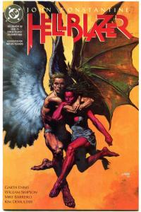Hellblazer #60 1992- Constantine- Garth Ennis-- birth of Genesis? NM-