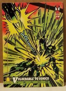 1994 Fleer Spider-Man #10 Vulnerable to Sonics