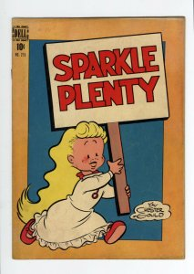 FOUR COLOR #215  VG/FN - DICK TRACY'S SPARKLE PLENTY - VERY SCARCE ISSUE - 1948