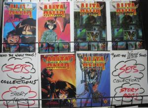 BATTLE ANGEL ALITA RANDO-PACK! 6 books! movie-prep investment! Viz Comics
