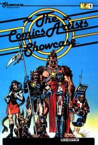 Comics Artists Showcase #1, NM- (Stock photo)