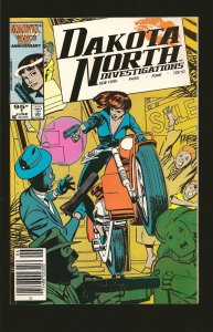 Marvel Comics Dakota North #1 (1986)