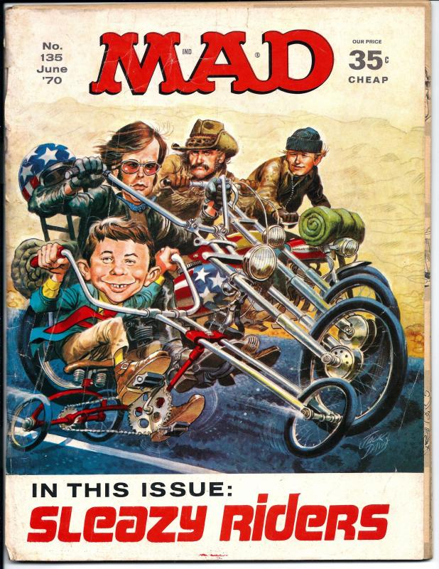 Mad No. 135,  June, 1970 (GD)