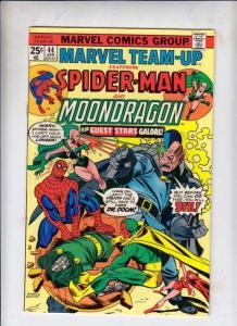 Marvel Team-Up #44 (Apr-76) FN/VF Mid-High-Grade Spider-Man