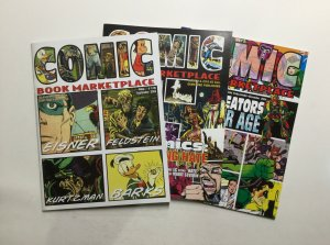 Comic Book Marketplace 115-117 Magazine Lot Near Mint Gemstone Publishing