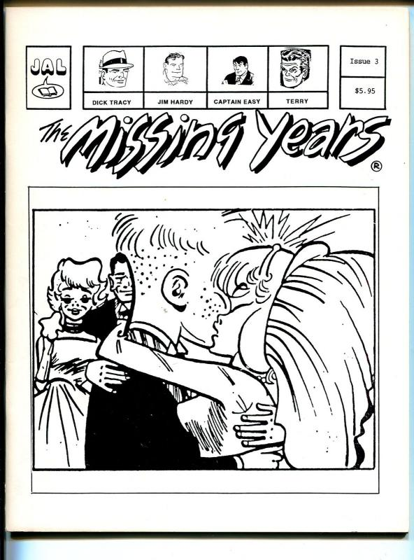 The Missing Years #3 1993-newspaper comics reprints-Dick Tracy-Capt Easy-VF