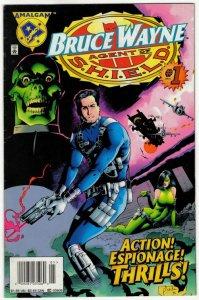 BRUCE WAYNE Agent Of SHIELD #!1 (VF/VF+) 1¢ Auction! No Resv!