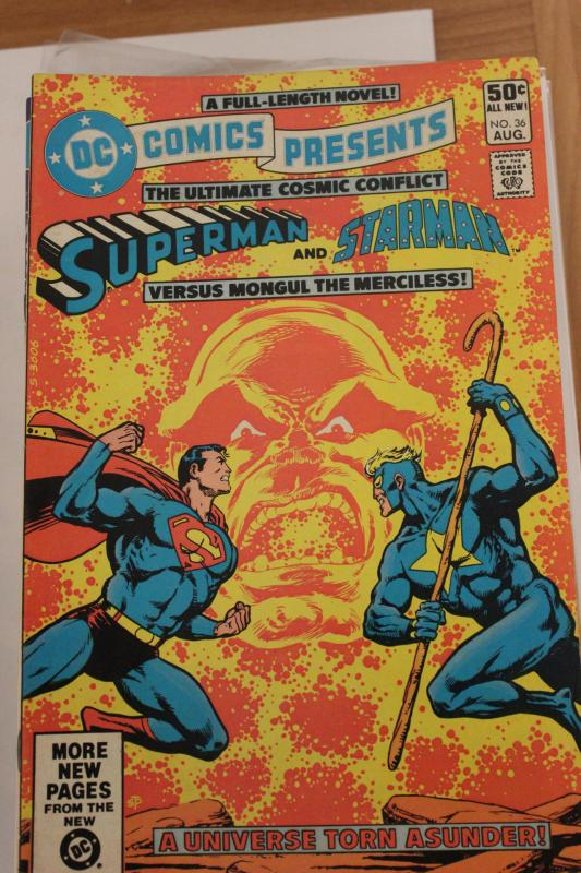 DC Comics Presents 36 NM