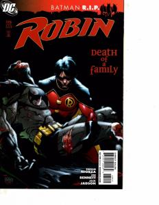 Lot Of 2 Comic Books DC Robin #175 and DMZ Five Nation of New York #69    MS9