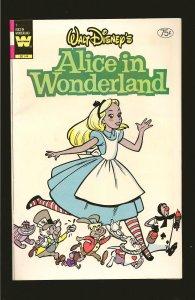 Whitman Comics Walt Disneys Alice in Wonderland No 1 1980