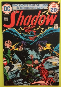 THE SHADOW 5 NIGHT OF NEPTUNES DEATH DC 1974