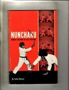 Nunchaku Karate Weapon Of Self-Defense By Fumio Demura Book